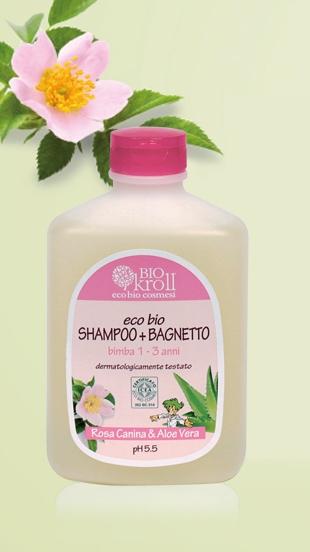 Eco Bio Shampoo + Bagnetto Bimba 1-3 anni