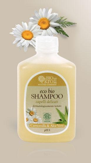 Eco Bio Shampoo Capelli delicati