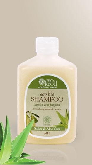 Eco Bio Shampoo Capelli con forfora