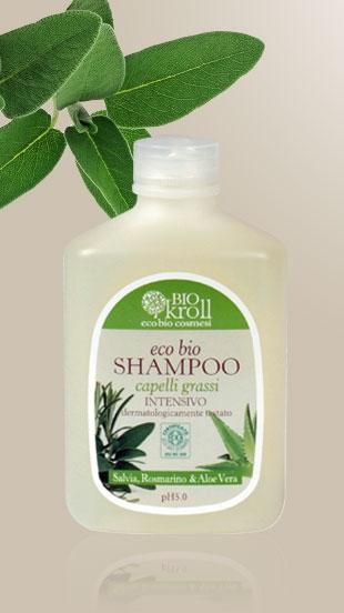 Eco Bio Shampoo Capelli Grassi